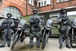 police london bmw f 800 gs