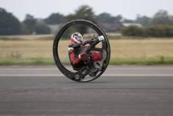 record moto monociclo 19