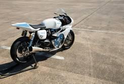 triumph thruxton white bike 15