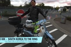 nurburgring honda supercub corea