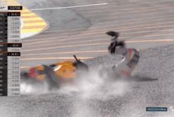 marc marquez caida test motogp 2017 valencia 06