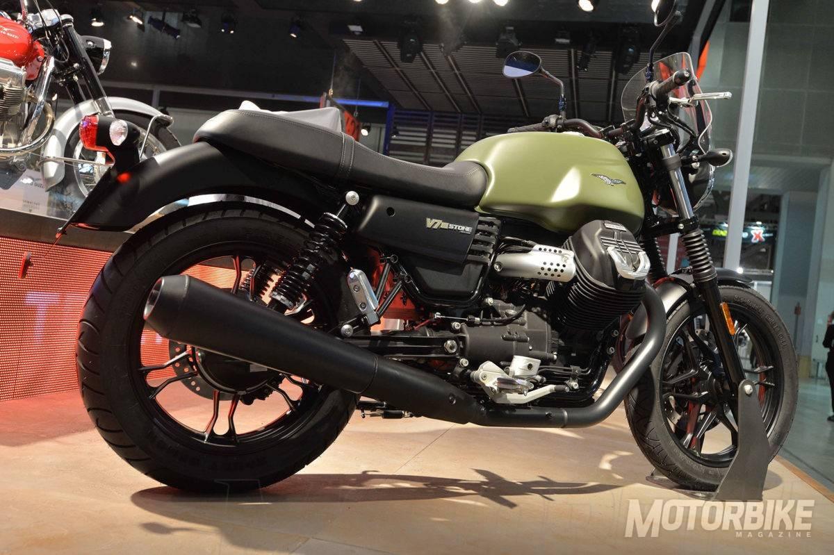 Moto Guzzi V Iii Stone Specs