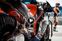 ktm rc16 motogp roll out