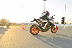 prueba ktm 1290 super duke r 2017 drag race 3