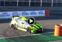 valentino rossi monza rally show video