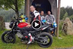 suzuki sv650 road trippart 2 video