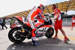 Andrea Dovizioso Test MotoGP Sepang 2017