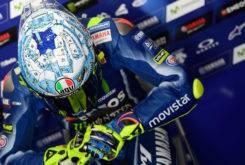 Casco Valentino Rossi Test MotoGP 2017 Sepang 01