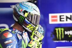 Casco Valentino Rossi Test MotoGP 2017 Sepang 02