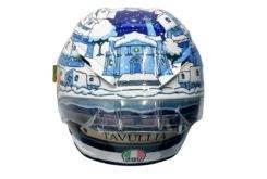 Casco Valentino Rossi Test Sepang MotoGP 2017 04