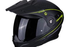 MBKScorpion adx 1 horizon matt black neon yellow