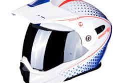 MBKScorpion adx 1 horizon pearl white red blue