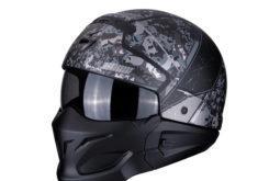 MBKScorpion exo combat opex matt black silver