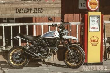 Prueba Ducati Scrambler Desert Sled 2017 - perfil
