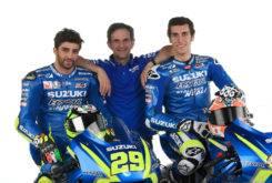 Suzuki MotoGP 2017 Rins Iannone