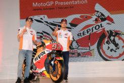 Marc Marquez Dani Pedrosa Presentacion Repsol MotoGP 2017