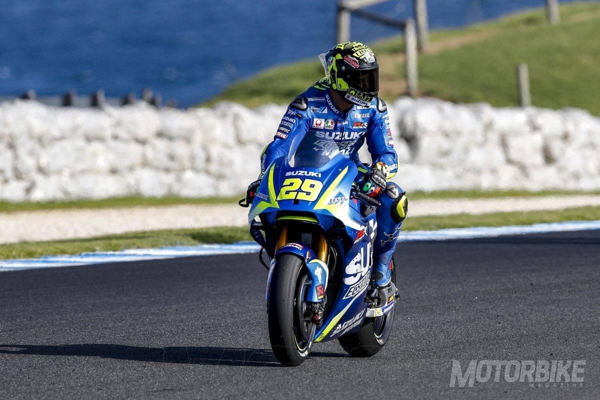 MotoGP 2017 Test Phillip Island Alerones Suzuki_01