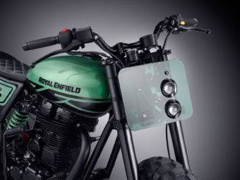 Royal Enfield Continental GT Green Fly 02