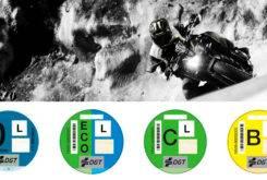 etiquetas medioambientales motos dgt 2