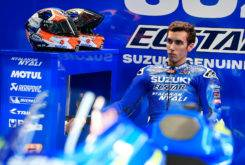 Alex Rins MotoGP 2017 Suzuki lesion