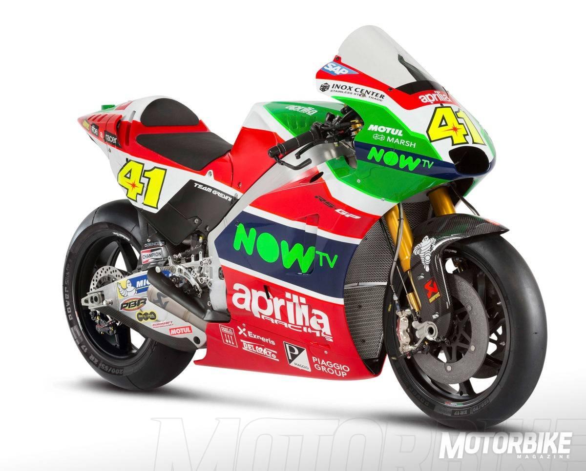 Aprilias New MotoGP Bike Is The Most Ambitious Project