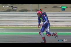 Caida Maverick Vinales MotoGP Qatar 2017 06