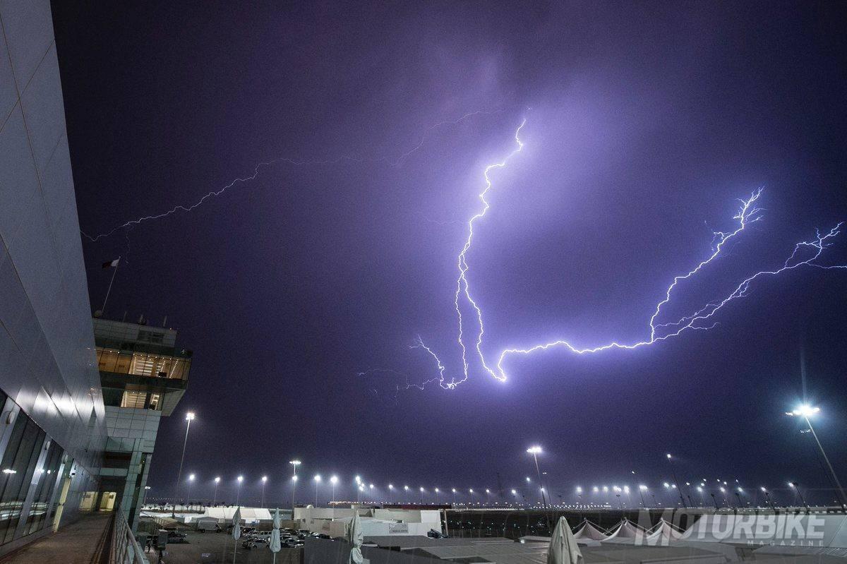 GP Qatar MotoGP 2017 lluvia