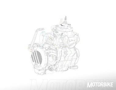 KTM EXC 2018 motor 2T inyeccion