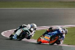 Maverick Vinales Romano Fenati Qatar Moto3 2012