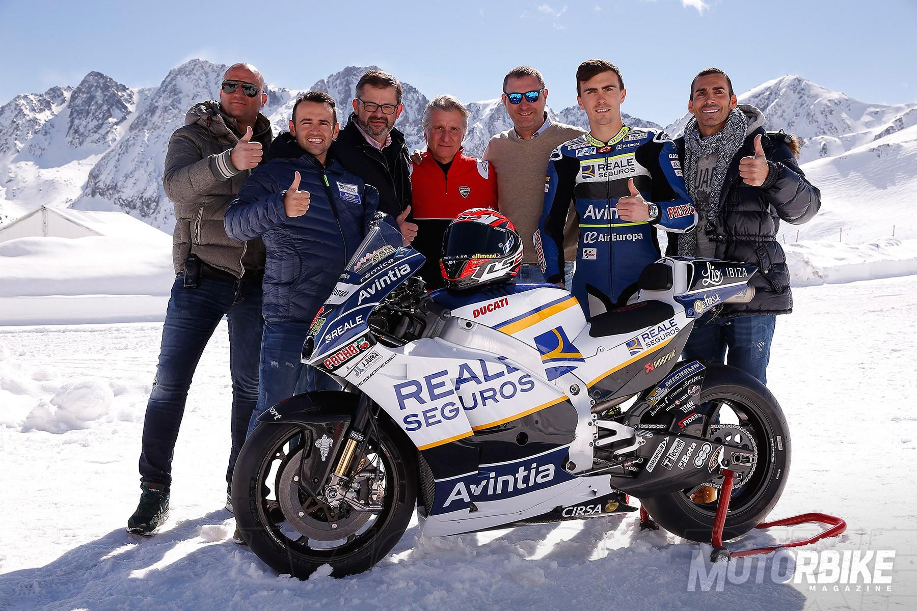 Presentación Reale Avintia Racing MotoGP Andorra - 9