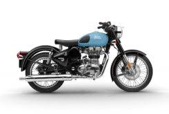 Royal Enfield Side Male Classic 500 Blue