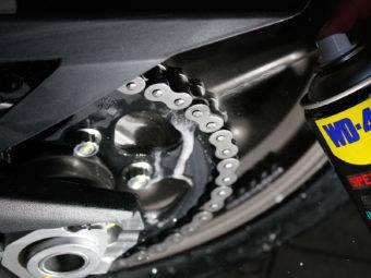 WD 40 Motorbike Magazine lubricante cadenas 10