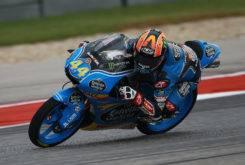 Aron Canet pole Moto3 Austin 2017