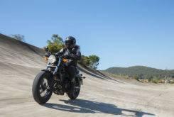 Honda Rebel 2017 prueba MBK 02