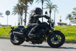 Honda Rebel 2017 prueba MBK 15