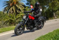 Honda Rebel 2017 prueba MBK 22