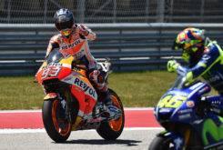 Marc Marquez Valentino Rossi MotoGP Austin 2017