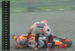 Marc Marquez caida MotoGP Argentina 2017 04