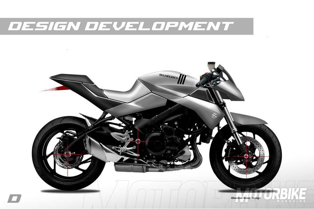Suzuki Katana Oberdan Bezzi Design 30