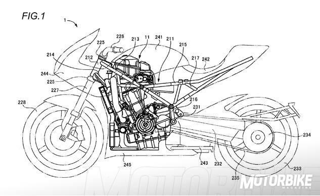 Bikeleaks Suzuki Patenta Nuevas Soluciones Para Una Moto