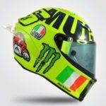 Cascos Valentino Rossi Mugello