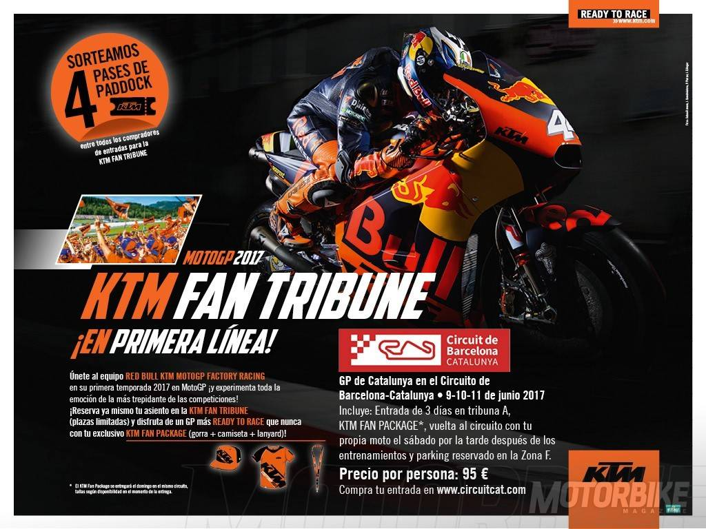 ANUNCIO KTM FAN TRIBUNE
