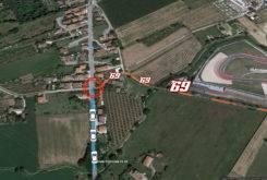 Accidente Nicky Hayden lugar 02