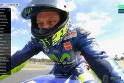 Caida Valentino Rossi Le Mans 201723