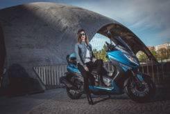Goes G 125 GT EFI 2017 prueba MBK 07