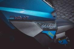 Goes G 125 GT EFI 2017 prueba MBK 25