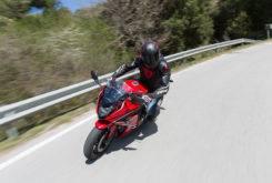 Honda CBR650F 2017 prueba MBK 21