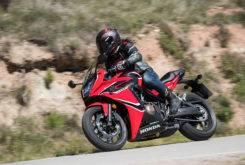 Honda CBR650F 2017 prueba MBK 55