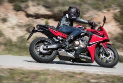 Honda CBR650F 2017 prueba MBK 58