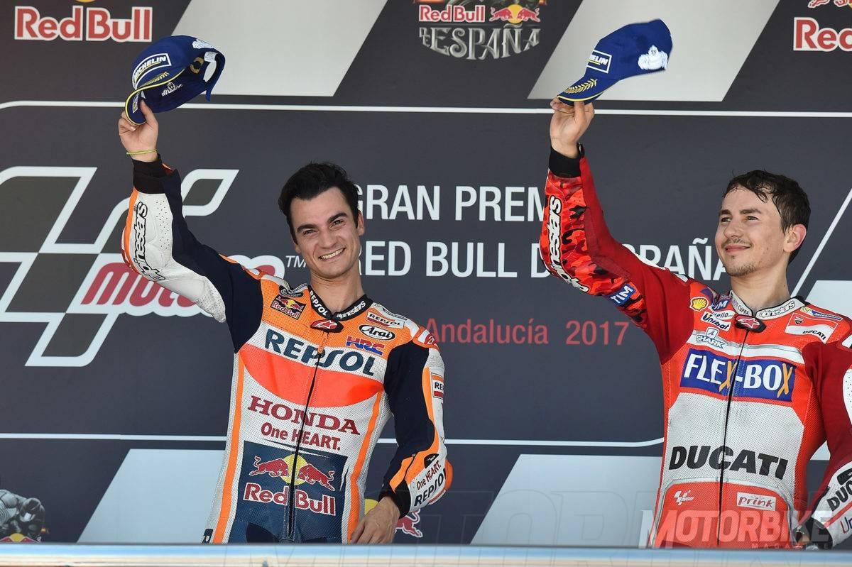 Pedrosa-Lorenzo-podio-Jerez-2017